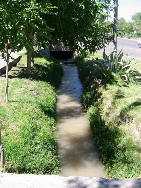 réseau d'irrigation
