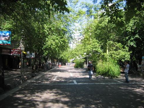 rue piétonne principale