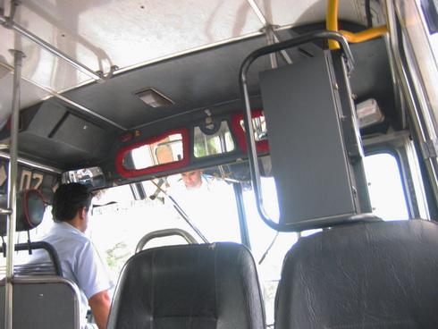 décoration dans les bus