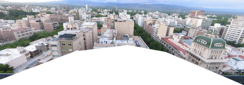 Vue sur Mendoza