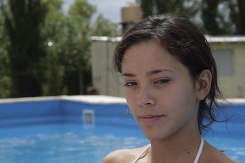 Noelia, la plus jeune pousse de la famille, en mode femme fatale