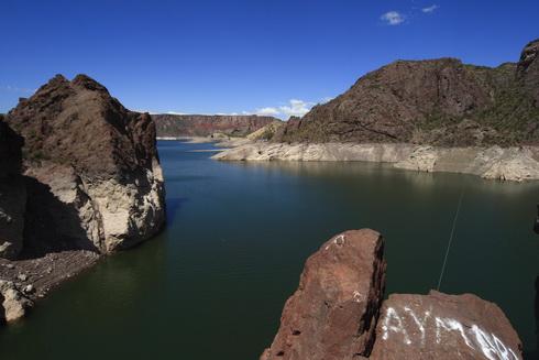 le lac du premier barrage