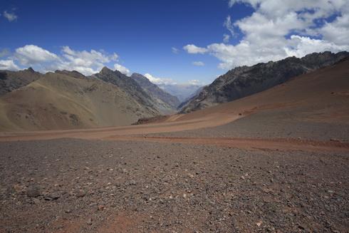 La frontière à 4000m, côté chilien