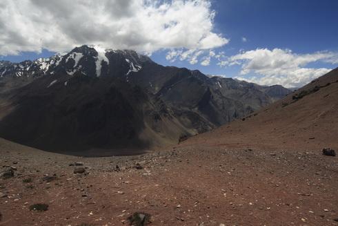 La frontière à 4000m, côté argentin