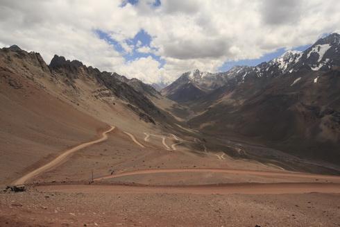 le chemin pour redescendre à Las Cuevas