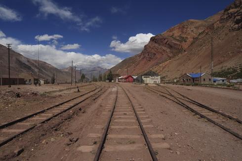 A côté du pont naturel des Incas