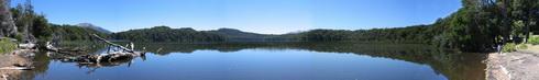 Un lac sur la presqu'île