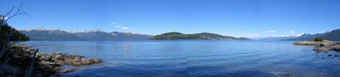 vue sur le lac Nahuel Huapi