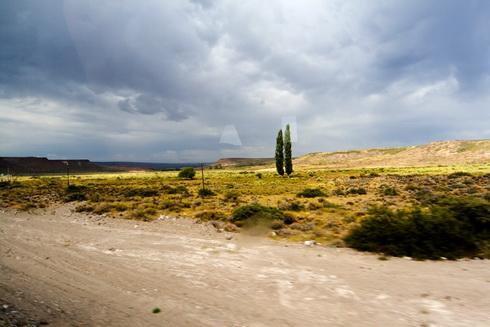 Sur la route entre Mendoza et Bariloche le 8 février 2007