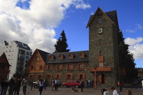 Mairie sur la place principale