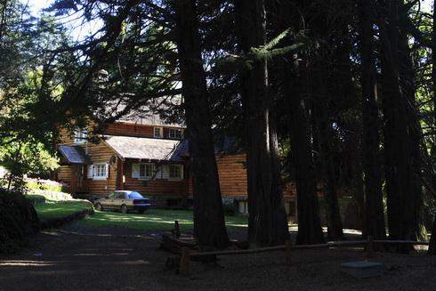 Une maison typique du coin