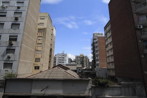 Vue sur Rosario de l'appartement de Cécilia