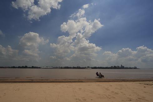 Vue générale sur Rosario de la plage