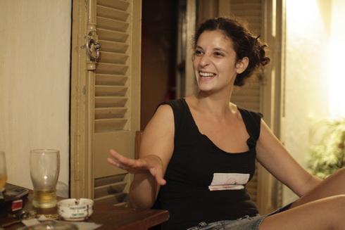 Pilar dans l'une de ses expressions favorites