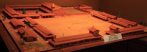 Maquette de la mission de San Ignacio Mini
