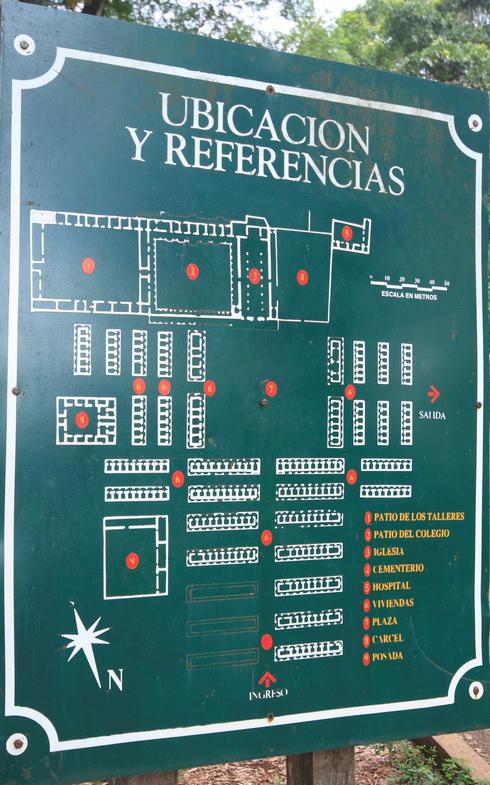 Plan de la mission de San Ignacio Mini