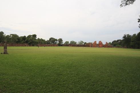 Ruines de la mission de San Ignacio Mini