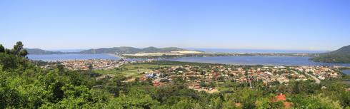 Lagoa de Conceicao vu de haut