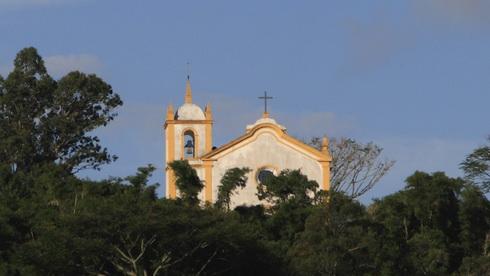 Une église de Lagoa de Conceiçao