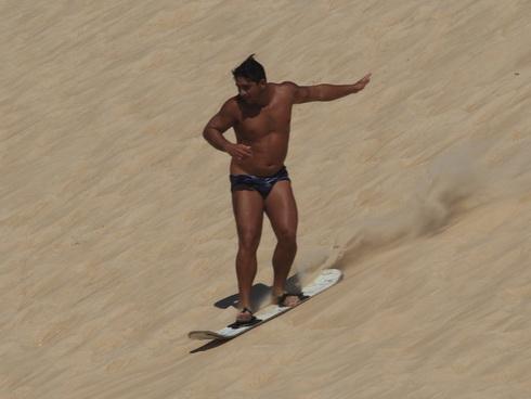 un surfeur !