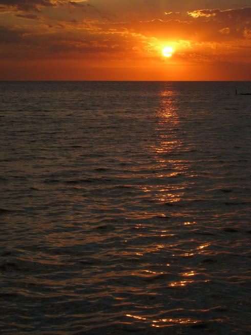 levé du soleil sur la Plata